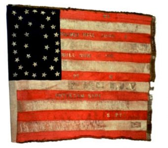 US Flag - 4th Regiment, NJ Volunteers (CN 29)