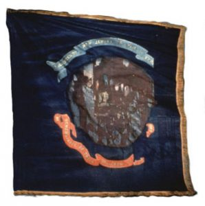Regimental Flag - 2nd Regiment, NJ Volunteers (CN 13)
