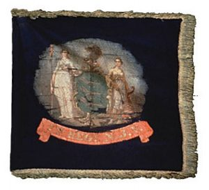 Regimental Flag - 2nd Regiment, NJ Volunteers (CN 11)