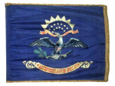 Regimental Flag - 3rd Regiment, NJ Volunteers (1898)(CN 21)