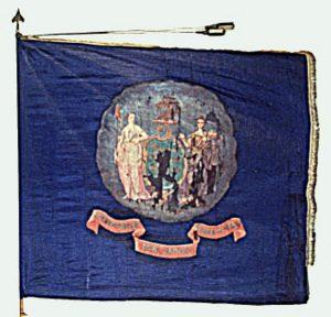 Regimental Flag - 4th Regiment, NJ Volunteers (CN 27)