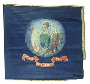Regimental Flag - 10th Regiment, NJ Volunteers (CN 54)