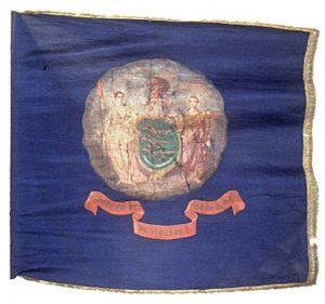 Regimental Flag - 11th Regiment, NJ Volunteers (CN 57)