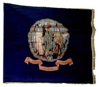 Regimental Flag - 9th Regiment, NJ Volunteers (CN 49)