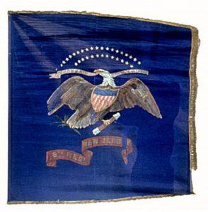 Regimental Flag - 9th Regiment of Infantry, US Volunteers (CN 48)