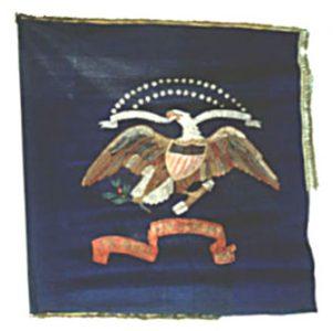 Regimental Flag - 1st Regiment, NJ Volunteers (CN 3)