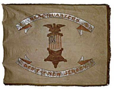 Organization Flag - Veterans of the 1st Regiment, NJ Volunteer Cavalry(CN 141)